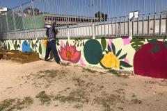 El-huerto-escolar-del-CEIP-Pintor-Camaron-llena-de-color-los-patios-del-colegio-11