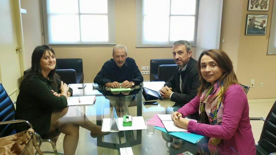 Reunión con Joaquín carrión