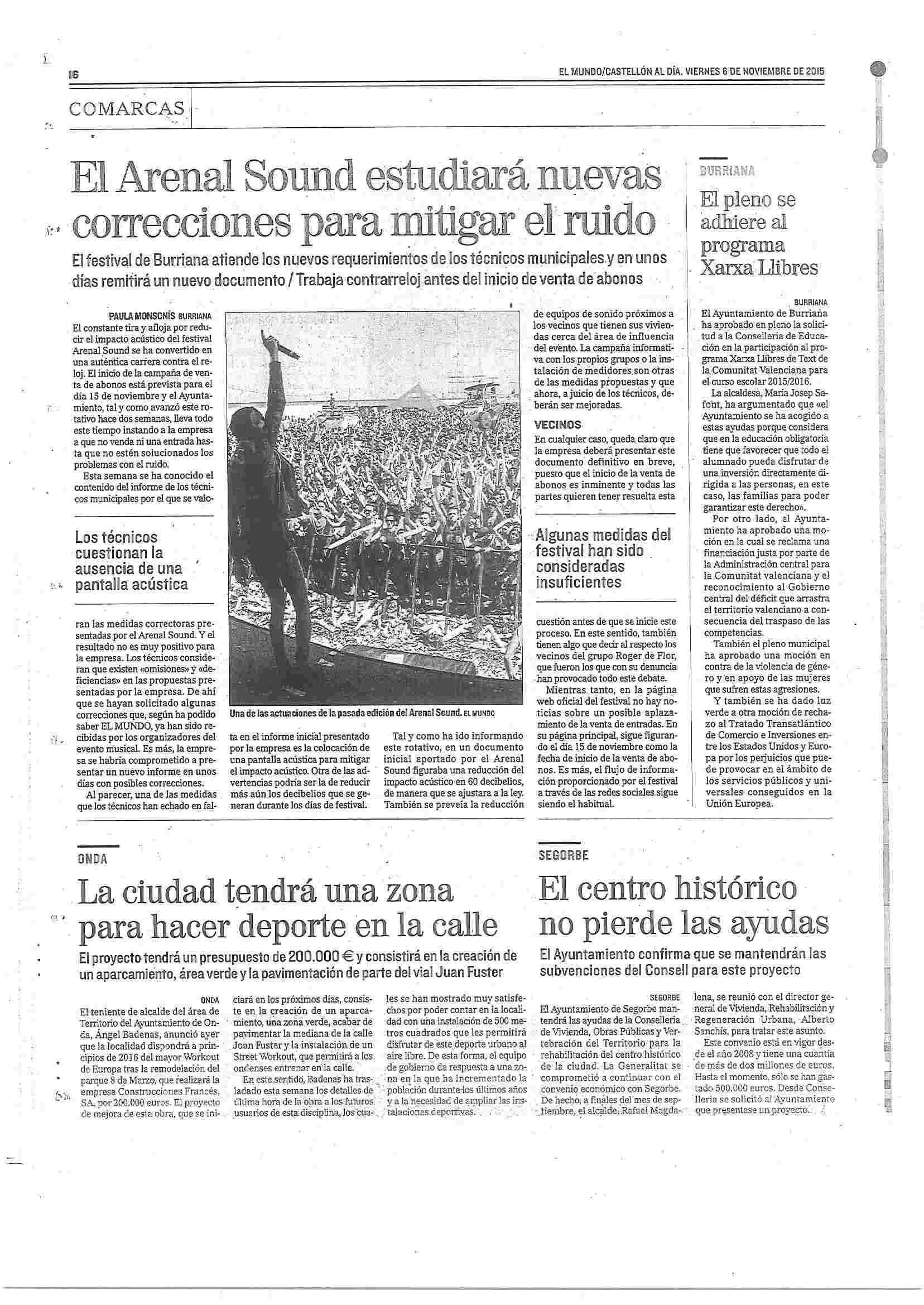 Prensa Segorbe
