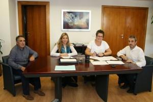 Rafael Magdalena y Luís Gil se reúnen para hablar de empleo en Segorbe
