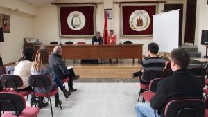 Sesión pública de junta de gobierno local en Segorbe