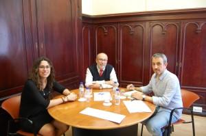 Reunión del Alcalde de Segorbe en la Conselleria de Transparencia