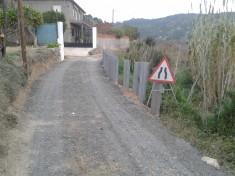 Trabajos de reparación del Camino de la Cruceta, Segorbe