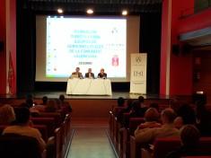 Presentación de las Jornadas en el Teatro Serrano