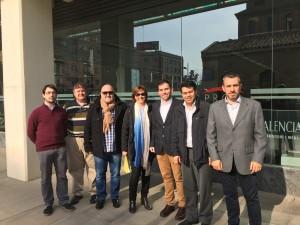 Alcaldes de los municipios del Parque de la Sierra Calderona