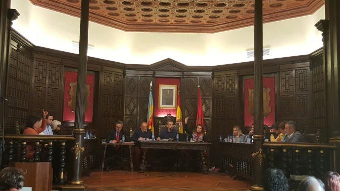 Pleno ordinario en el Ayuntamiento de Segorbe