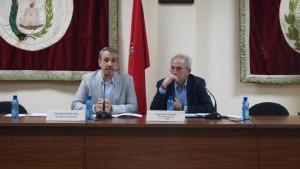Alcalde y secretario de la FVMP en el acto de memoria histórica
