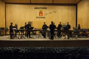 Audición de percusión en el Conservatorio de Segorbe