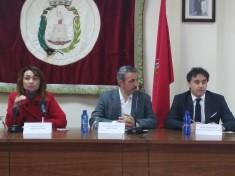 La Concejala de Turismo, El Alcalde de Segorbe y el Presidente de la Agència Valenciana de Turisme