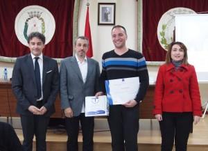 El propietario de la Casa Rural Argén recibe el certificado SICTED