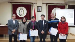 La guía oficial de turismo Marian Bartual recibe el certificado SICTED