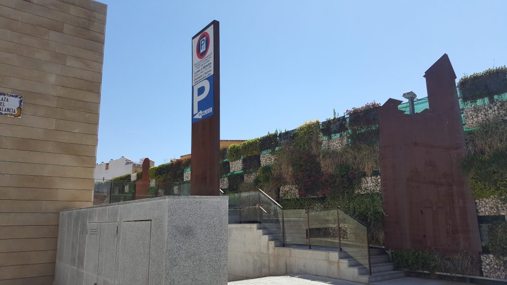 Parking municipal de Segorbe