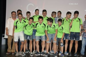 C.D Fútbol Sala SEgorbe. Equipo Infantil Funeraria Robles