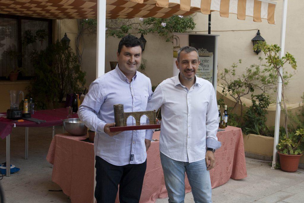 El Alcalde de Segorbe junto a Alfonso Alandí