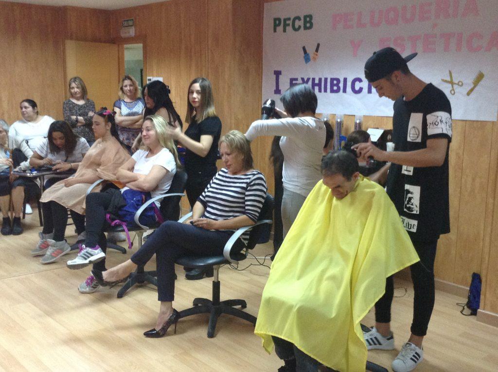 Exhibición PFCB Auxiliar de Peluquería y Estética