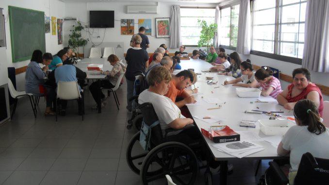 Concurso de dibujo en el Centro Ocupacional de Segorbe.