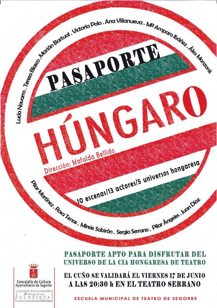 pasaporte húngaro escuela municipal de teatro de Segorbe