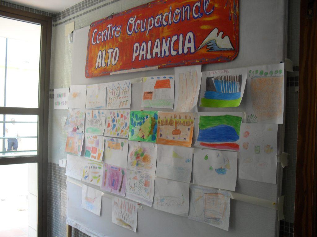Decoración del Centro Ocupacional de Segorbe para la Semana Cultural