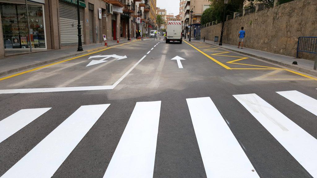 Calle Alicante de Segorbe