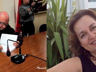 Luis Gispert y Gemma Fajardo Mantenedores de las Reinas 2016