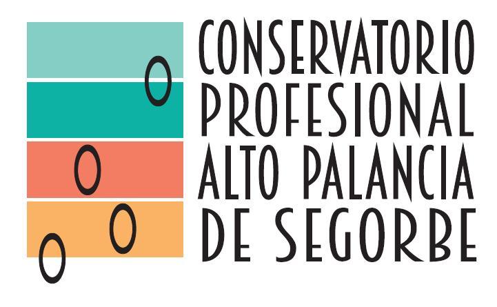 logo conservatorio profesional de música Alto Palancia