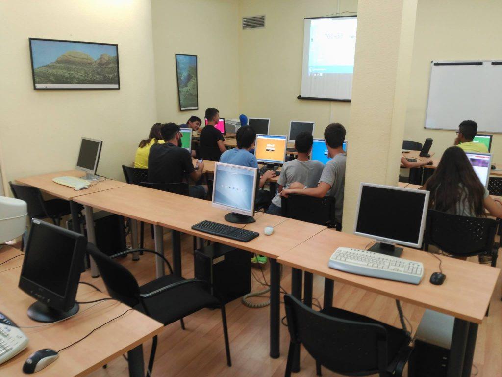 Actividades en el aula de informática