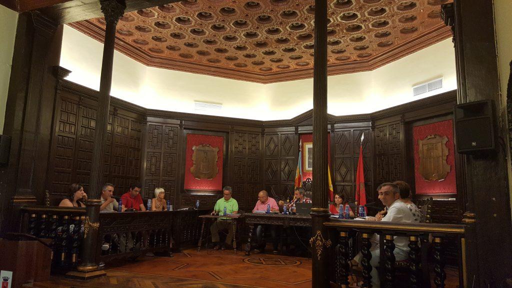 Pleno ordinario de agosto en el Ayuntamiento de Segorbe