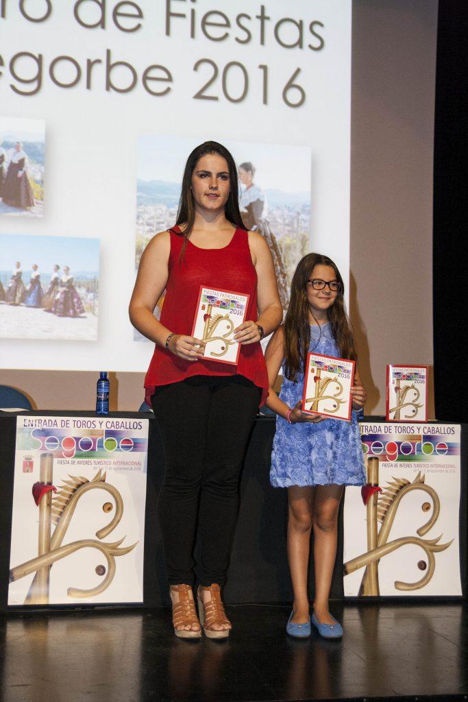 Las reinas entrantes, Patricia Rodrigo y Martina Gil