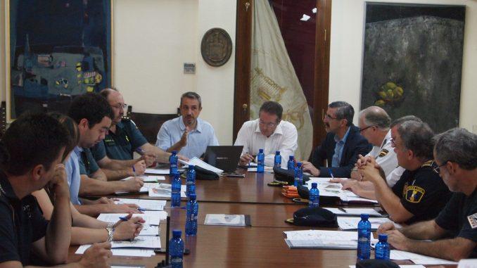 Junta Local de Seguridad en Segorbe