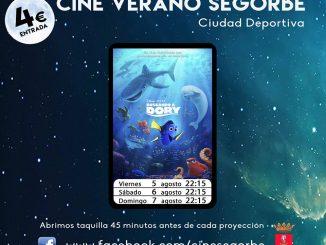 """""""Buscando a Dory"""" en el cine de verano en Segorbe"""
