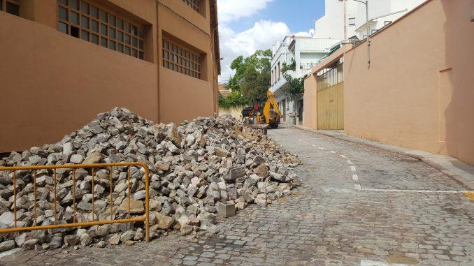 Comienzan las obras en las calles Higueras y Paz Civera de Segorbe