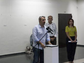 El Alcalde de Segorbe en el acto de inauguración