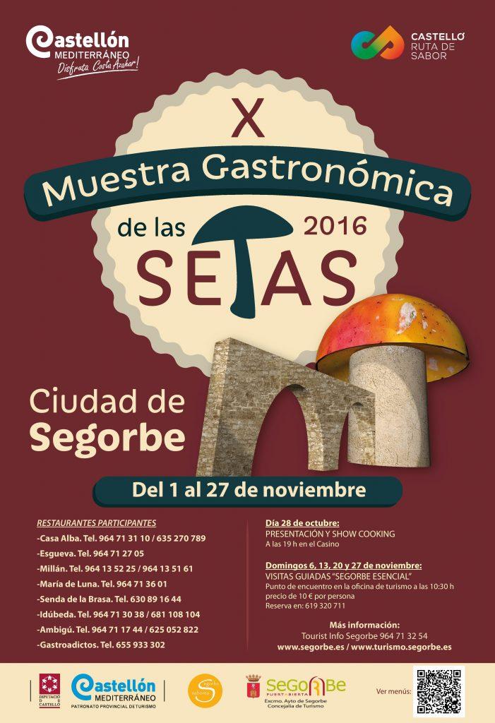 X Muestra Gastronómica de las Setas de Segorbe