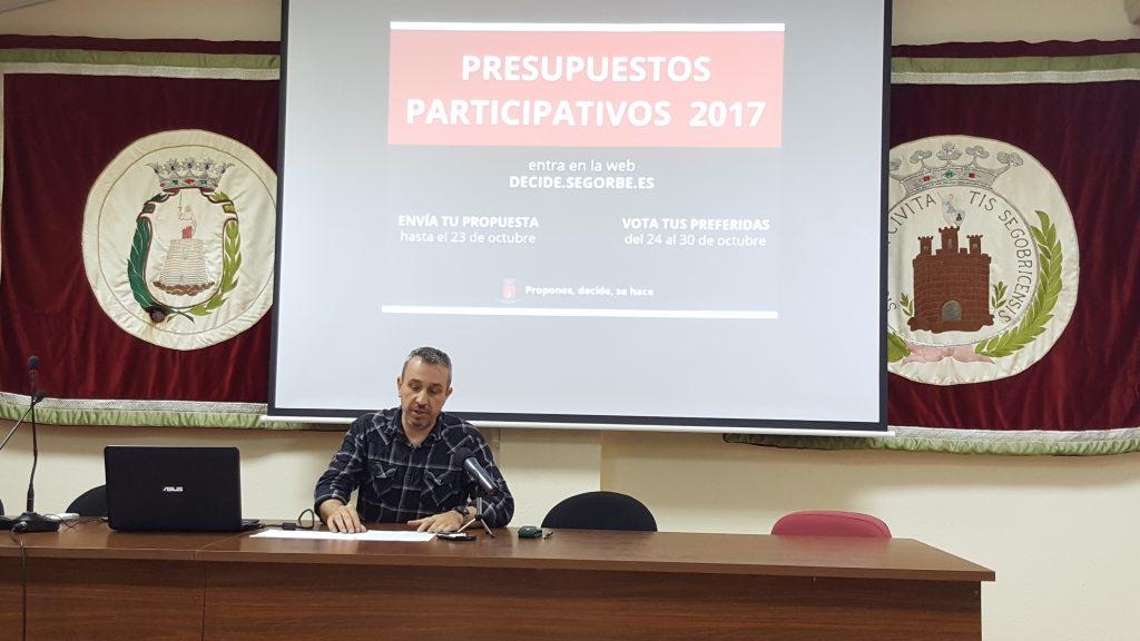 Rafael Magdalena anuncia los resultados en rueda de prensa