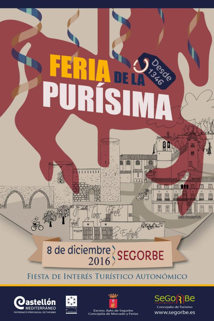 Cartel Feria de la Purísima de Segorbe