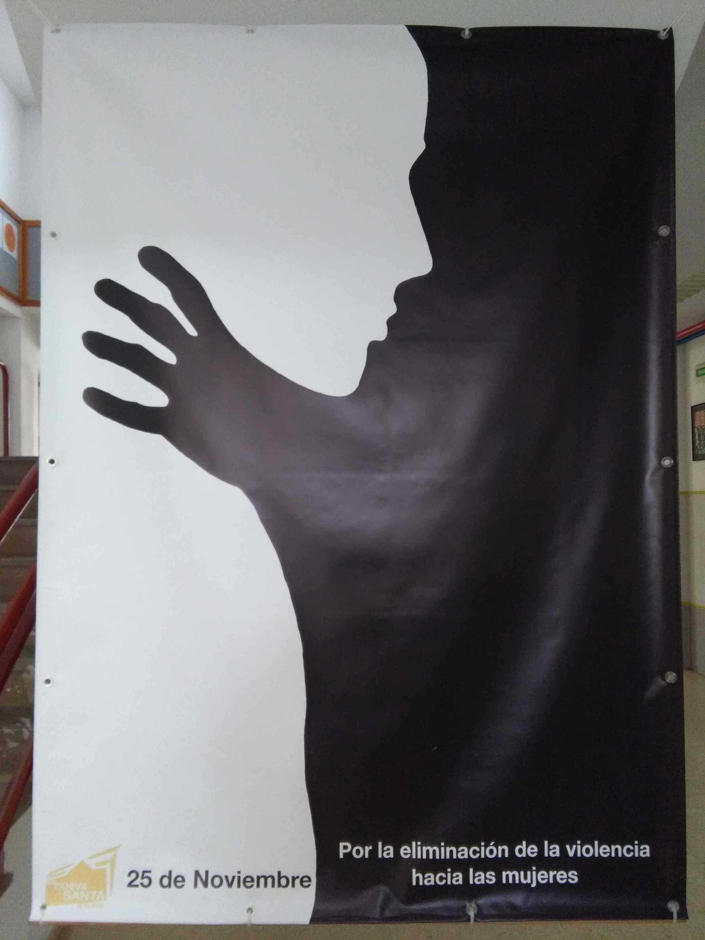 Actividades en el IES Cueva Santa de Segorbe en el Día contra la Violencia de Género