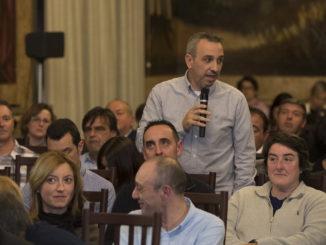 El Alcalde de Segorbe interviene en la Cumbre de los Alcaldes. Fuente: Diputación de Castellón. Flickr.