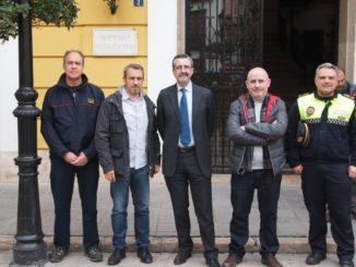 Visita de José María Ángel Batalla a Segorbe para ver las instalaciones de las brigadas forestales en 2016.jpg