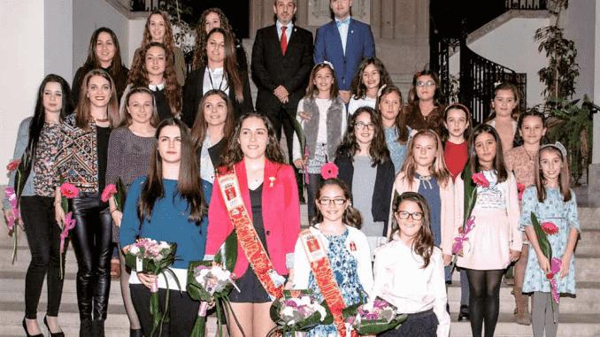 Elección de las Reinas, Damas y Cortes 2016