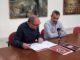 El Concejal de Cultura y el Alcalde de Segorbe en la presentación de los concursos