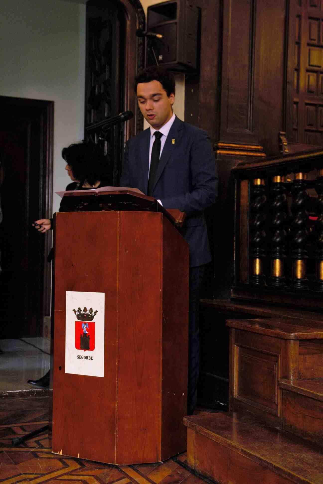 Concejal de Fiestas, Enrique Máñez