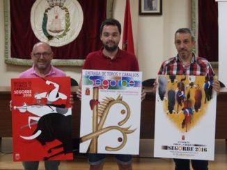 Carteles premiados en la edición pasada del concurso - Segorbe, 2016