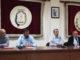 Rueda de prensa en el Ayuntamiento de Segorbe, sobre la XI Muestra Audiovisual de la ciudad