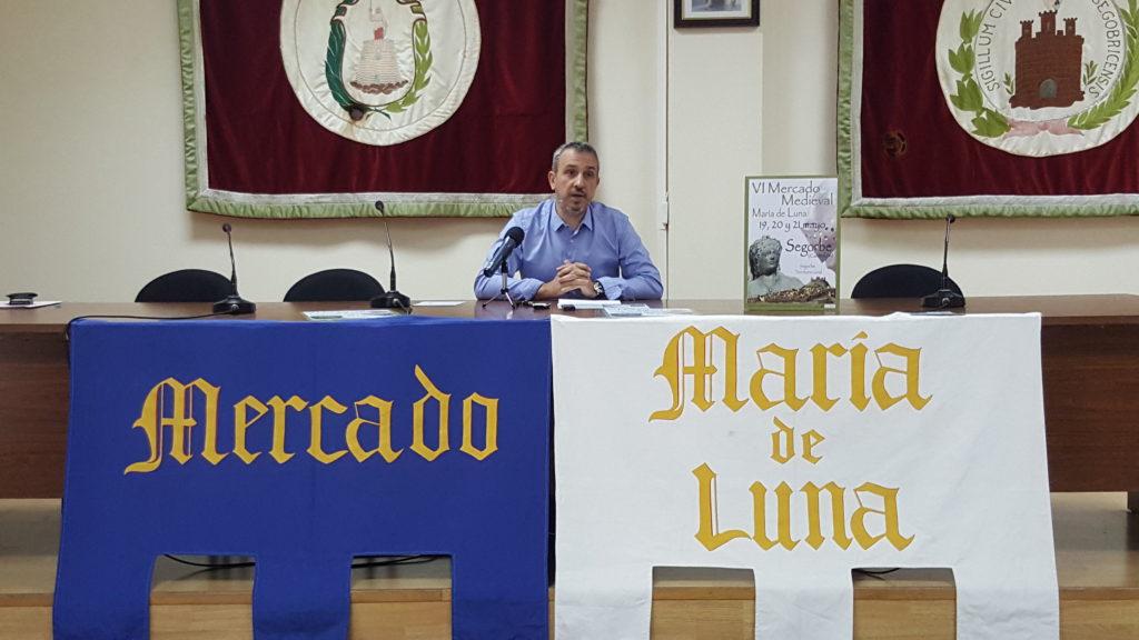 El Alcalde de Segorbe presenta el VI Mercado Medieval María de Luna