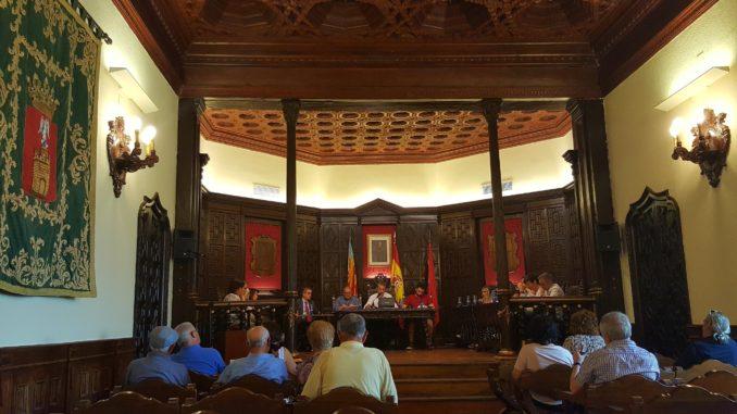 Pleno ordinario del Ayuntamiento de Segorbe. Junio 2017