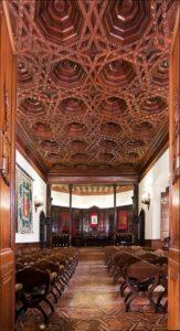 Salón de Plenos del Ayuntamiento de Segorbe