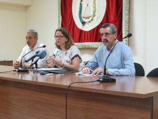 Rueda de prensa ofrecida por la Consellera de Medioambiente, el Director de la Agencia Valenciana de la Seguridad y Respuesta a las Emergencias y el Alcalde de Segorbe