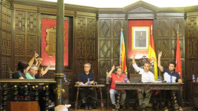 El equipo de gobierno vota a favor de la modificación de crédito para hacer inversiones sostenibles en Segorbe