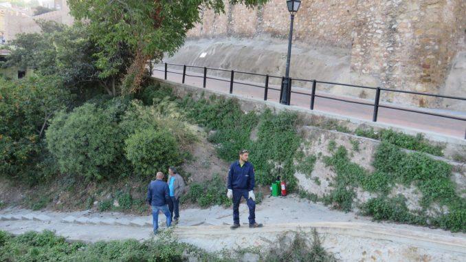 Zona en el Argén, en proceso de acondicionamiento