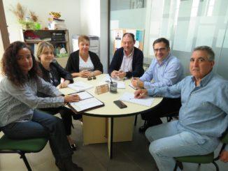 Reunión entre el Ayuntamiento y la empresa y fundación J. García Carrión